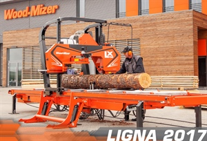 LX450 Twin-Rail Sawmill released