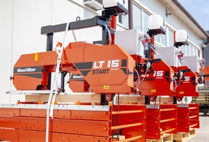 Wood-Mizer adds affordable LT15START Sawmill to LT15 Series