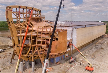 $100 million Noah's Ark built with timber from Wood-Mizer sawmill