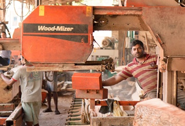 Sri Lankan sawmill growing with 8 Wood-Mizer sawmills