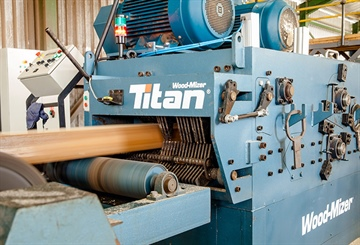 African sawmill concluding efficiency upgrade with Wood-Mizer TITAN
