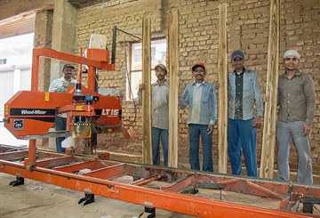 New Delhi sawmiller maximising teak yield with Wood-Mizer