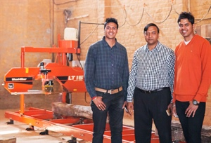 New Delhi sawmilling family improving profits with upgraded sawmill