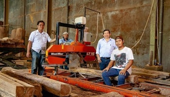 Wood-Mizer | LT15 Sawmills Improving Timber Yields in Indonesia
