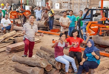 Growing Indonesia Furniture Producer Replacing Old Machinery with...