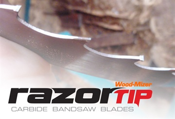 Cut tropical hardwoods with RazorTIP Carbide blades