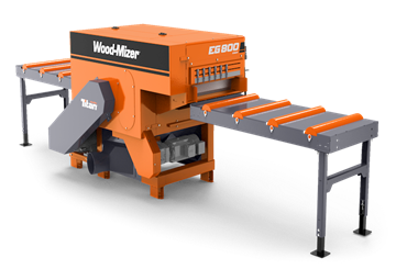 Wood-Mizer MP360   High production four-sided moulder and planer