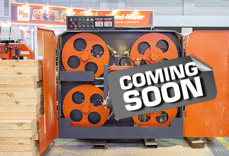 Coming soon! Wood-Mizer is going to present a twin-saw Horizontal Resaw HR250
