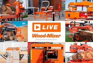 Wood-Mizer LIVE: the first online demonstration of Wood-Mizer's...
