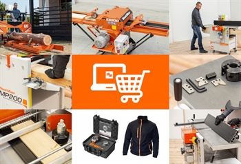 Wood-Mizer European E-STORE ready for your orders!