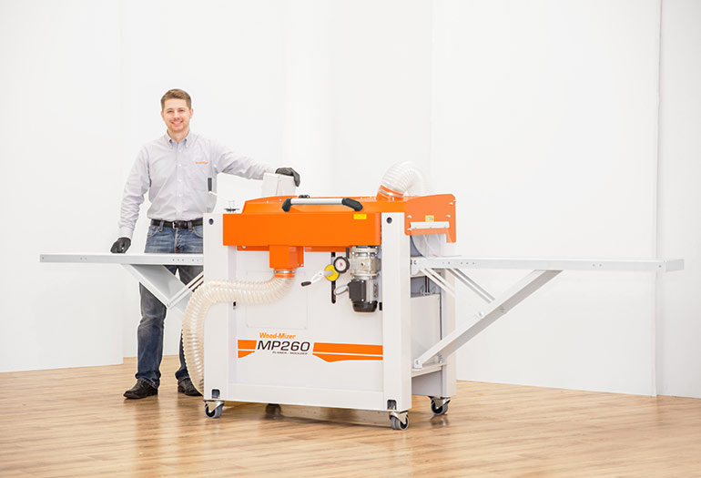 Wood-Mizer releases affordable MP260 4-sided Planer/Moulder for