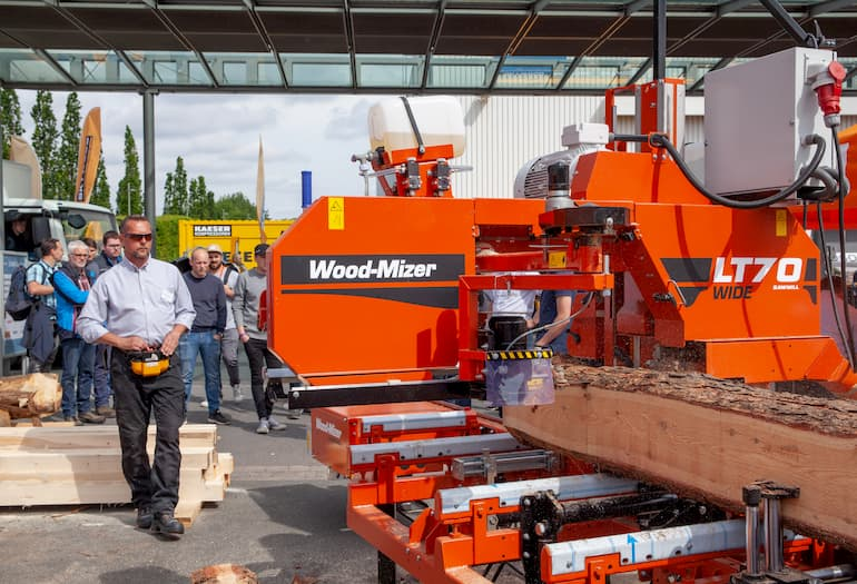 AT LIGNA 2019 WOOD-MIZER PRESENTED A WIDE RANGE OF NEW MACHINERY