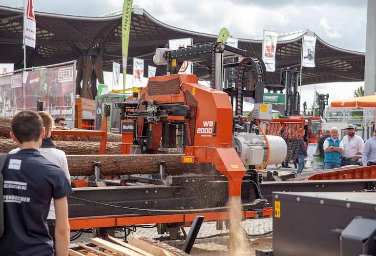 AT LIGNA 2019 WOOD-MIZER PRESENTED A WIDE RANGE OF NEW