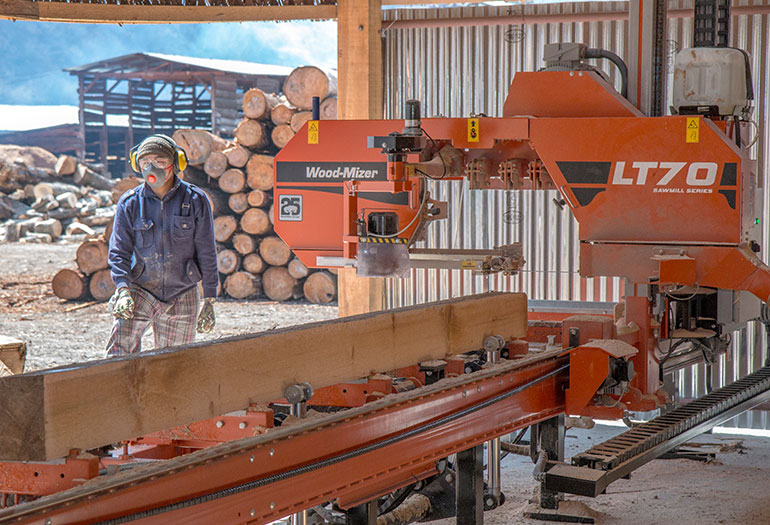 Bhutan's GNH forestry policies changing sawmilling across the Himalayan country