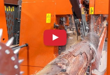 New Video of Smart Log Processing Line in Thailand - First cuts...