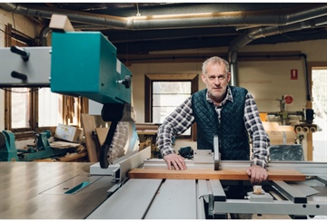 Tasmania Furniture Master Craftsman & his Tools