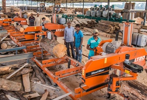 Kolkata timber company expanding with Wood-Mizer sawmills