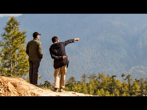 Sawmilling In The Himalayas For The Bhutan Royal Academy