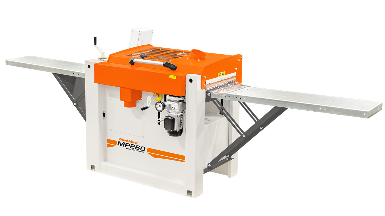 Wood-Mizer MP260 | Moulder for full flexibility to produce
